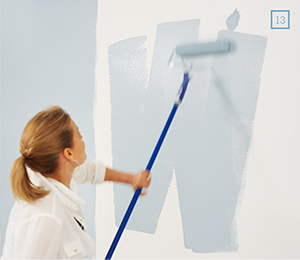 how to paint a wall | taubmans