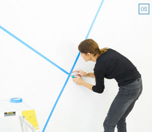 How To Paint Geometric Shapes Taubmans