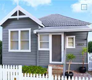 Painting a house exterior taubmans for Exterior paint ideas australia