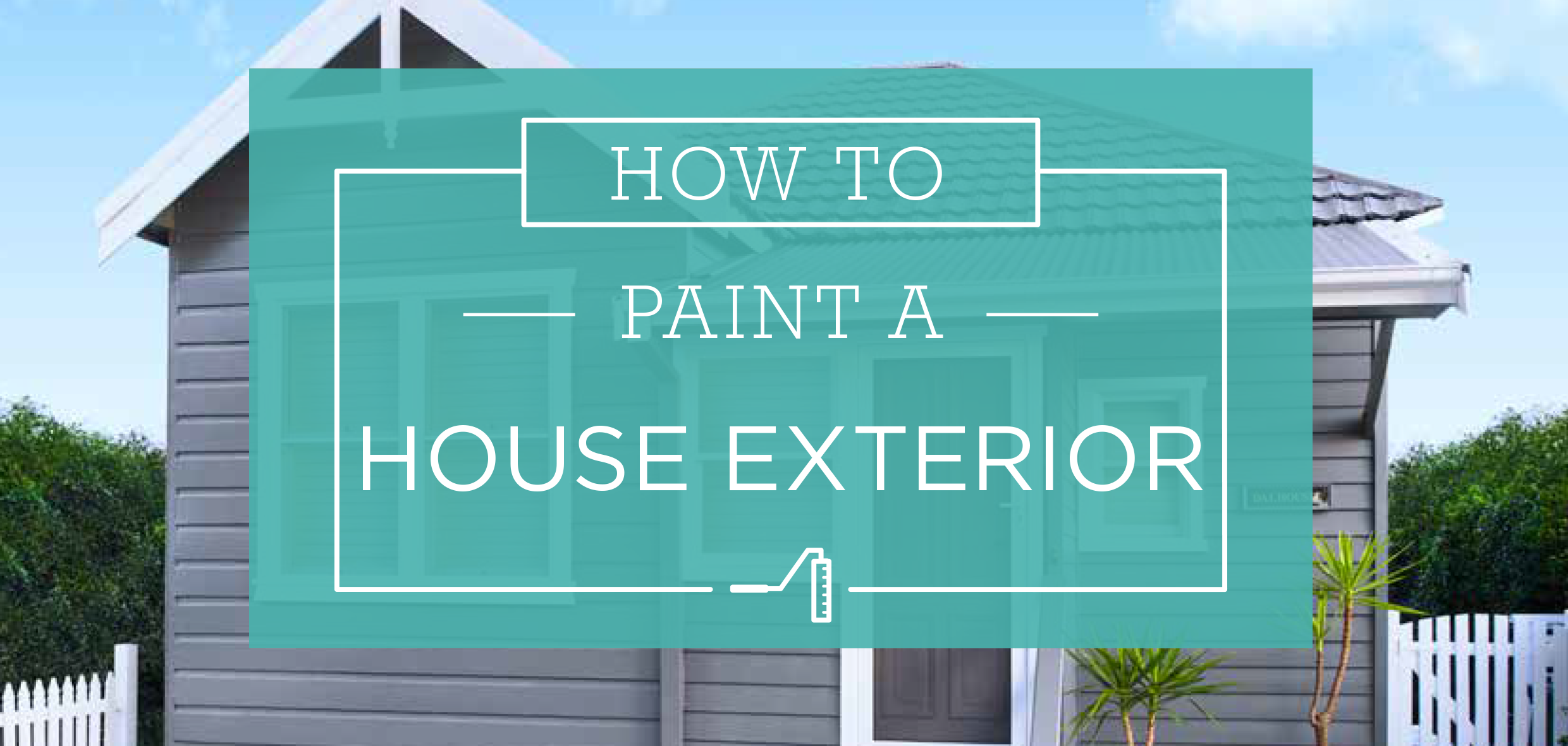 Wonderful How To Paint A House Exterior