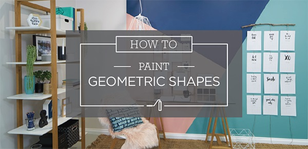 How To Paint Geometric Shapes